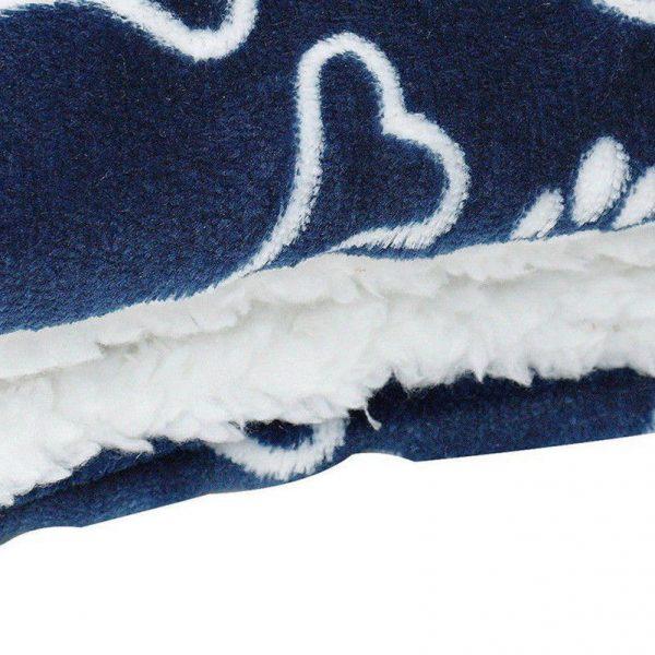 שטיחון צבעוני רך לכלב