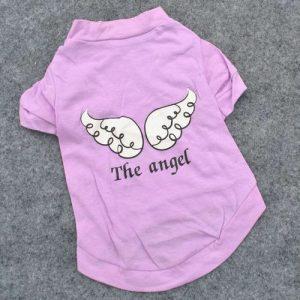 Angel חולצת קיץ לכלבים קטנים
