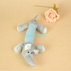 צעצוע לכלב פיל מצפצף