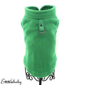 זיקט מחמם ירוק לכלב קטן