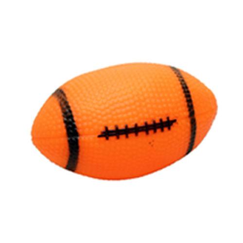צעצוע לכלב כדור רוגבי מצפצף