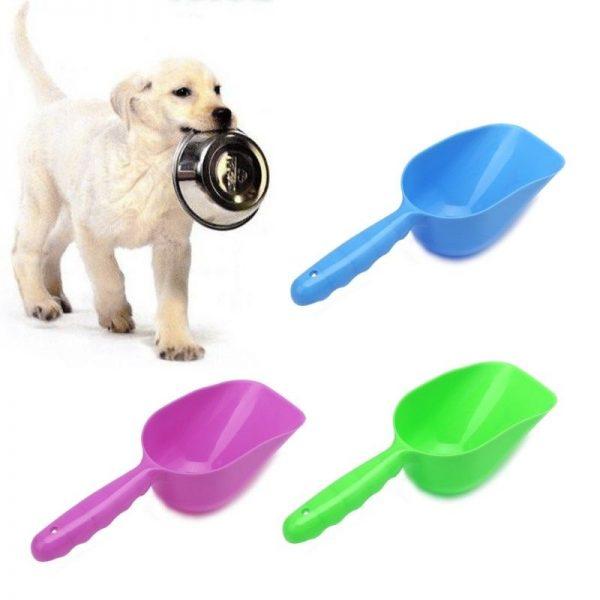 כף לאוכל יבש לכלבים