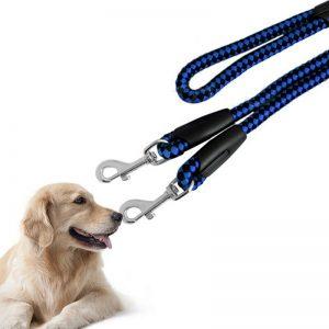 רצועה כפולה לשני כלבים
