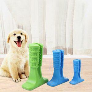 צעצוע נשכן מברשת שיניים לכלבים