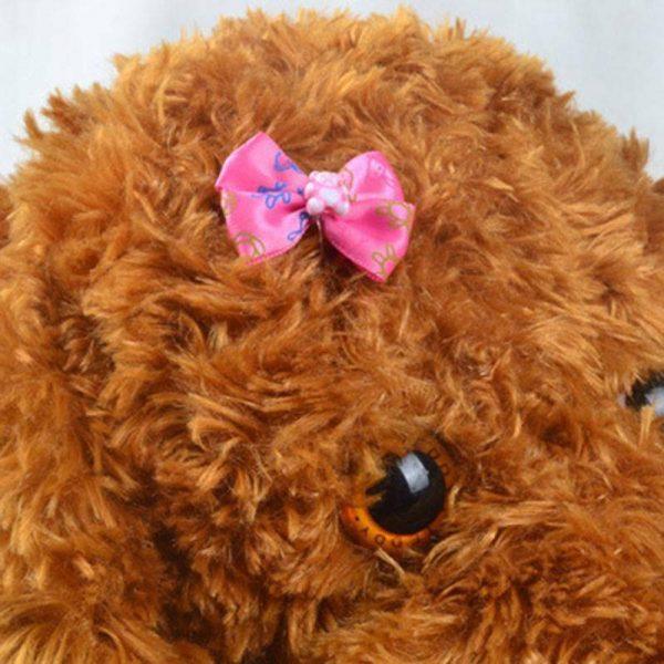 סיכת שיער לכלב בצורת פרפר