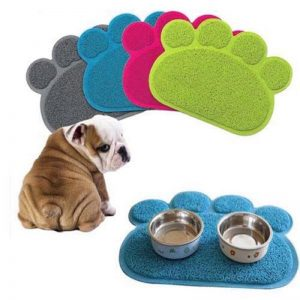 שטיחון מטבח להאכלה כלבים